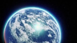 Earth zoom sky to city Epic Cinematic Logo Reveal intro opening movie hollywood