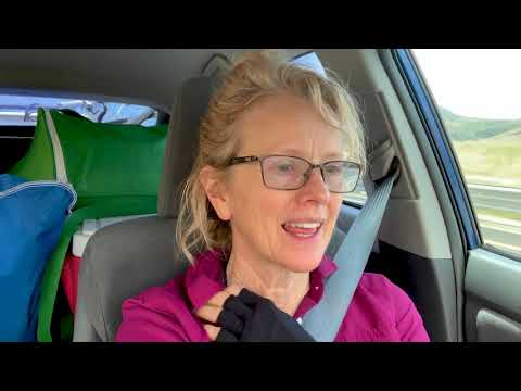 CALIFORNIA COAST | Getting to BIG SUR | Camping with Kaye Part 1