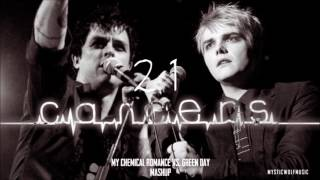 "MCR vs. Green Day - ""21 Cancers"" (Mashup)"