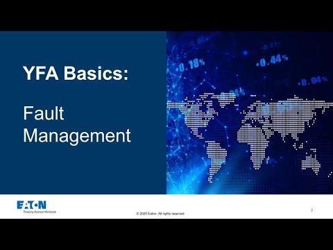 YFA Basic Training: Fault management