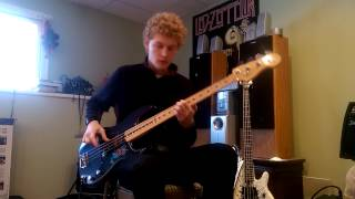 Fall out boy uma thurman bass guitar cover