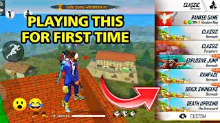 LIVE REACTION TO NEW BRICK SWINGERS MODE  | BEST GAMEPLAY || SCORE 4400++  #GARENAFREEFIRELIVE