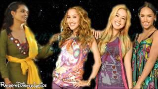 The Cheetah Girls - Dance Me If You Can - Lyrics On Screen