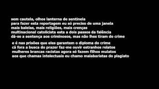 Valete - Nossos Tempos [AUDIO+LETRA] (EDUCAÇÃO VISUAL 2002)