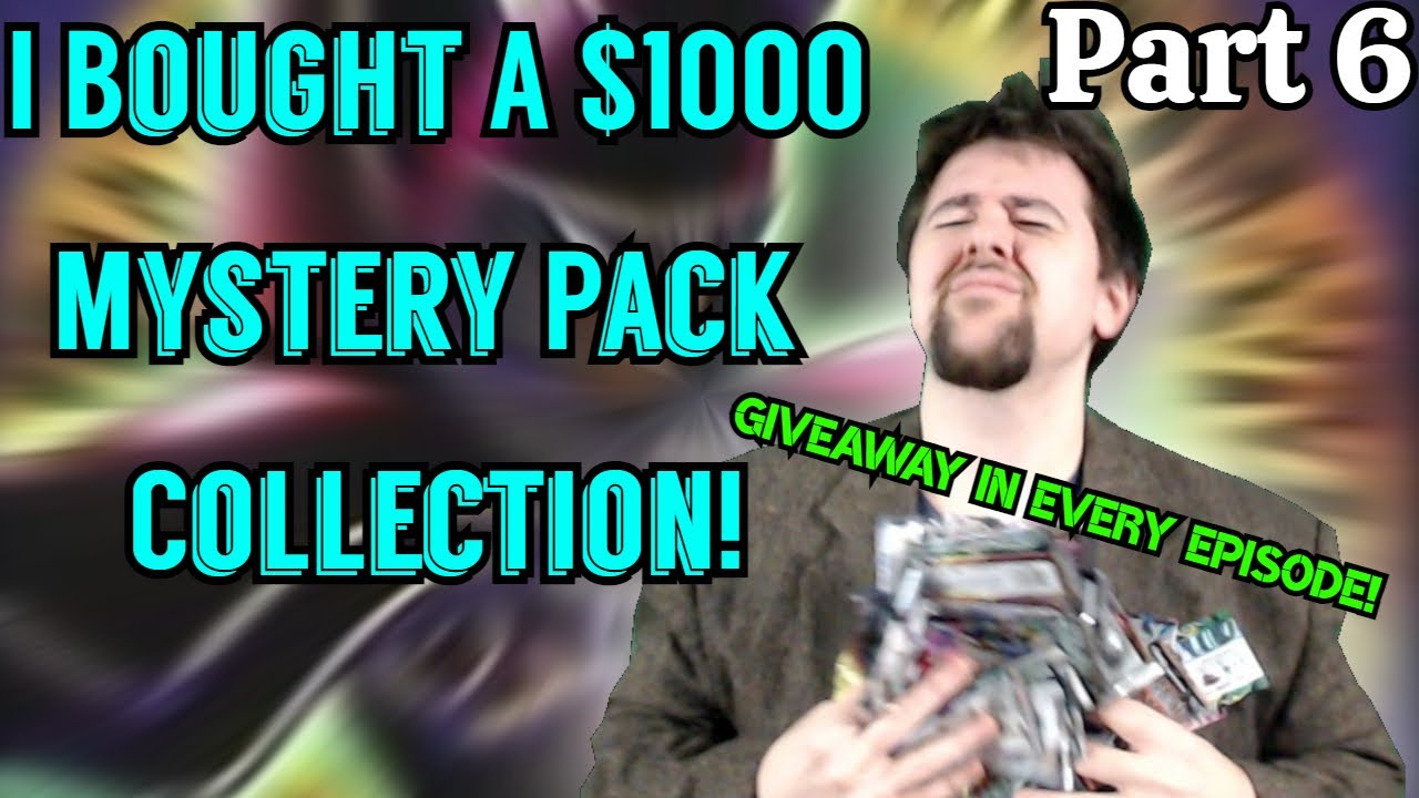 GGVision - I BOUGHT A *$1000* Yu-Gi-Oh! MYSTERY PACK COLLECTION! - Part 6/8 - Dark Magician's Everywhere!
