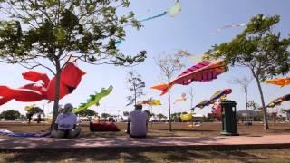 International Kite festival Malaysia Thailand 2014, Pasir Gudang, Alor-Setar, Satun
