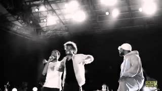 Danny Brown, Childish Gambino and ScHoolboy Q Freestyle in Prospect Park