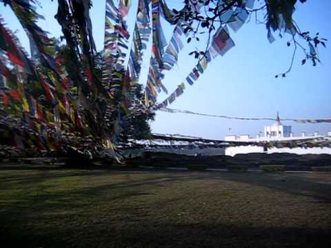 Buddha Birth place in Lumbini, Nepal