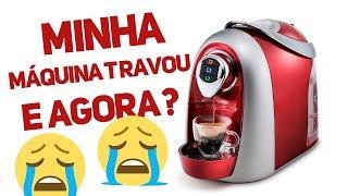 3 CORAÇÕES - MÁQUINA TRAVOU COM A TAMPA FECHADA
