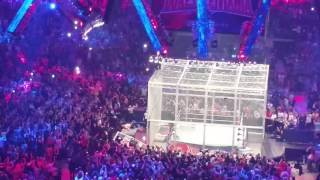 Shane McMahon live leap from WM32