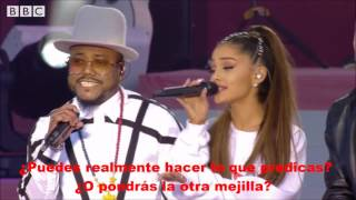 Where is the love?-Letra-Ariana Grande Ft The Black Eyed Peas