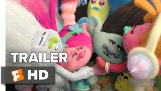 Trolls Official Trailer 2 (2016) - Justin Timberlake Movie