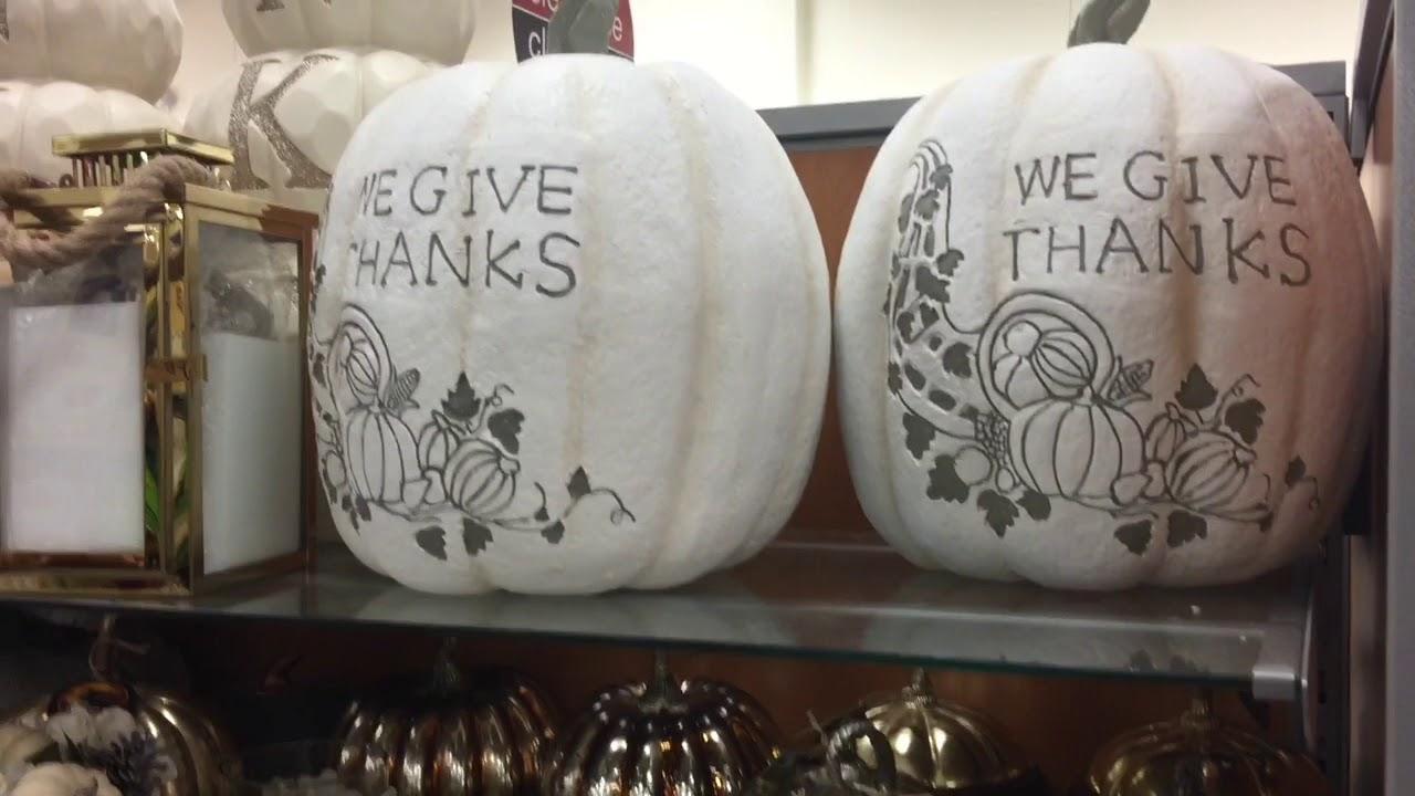 Shop With Me! TJ MAXX   Halloween   Fall Decor   August 2017