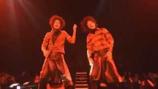 LES TWINS - Flawless , Beyonce / Mrs Carter World Tour