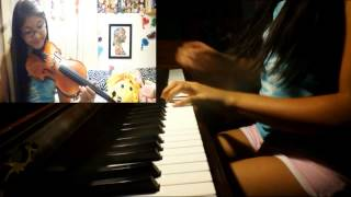 despair - naruto shippuden on violin & piano