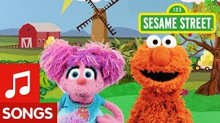 Sesame Street: Find Orange with Elmo and Abby! | I Spy Color Song #1