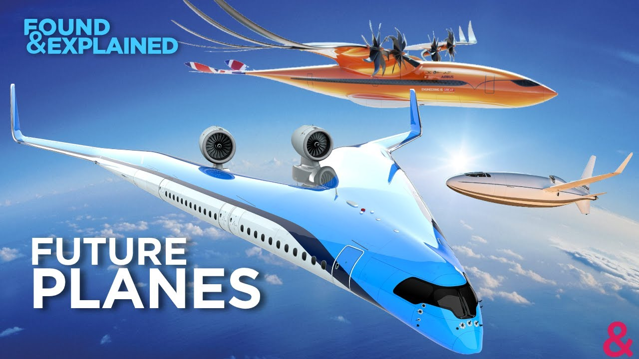 Future Aircraft that we might Fly on – Concept Planes from Airbus, Boeing and more!