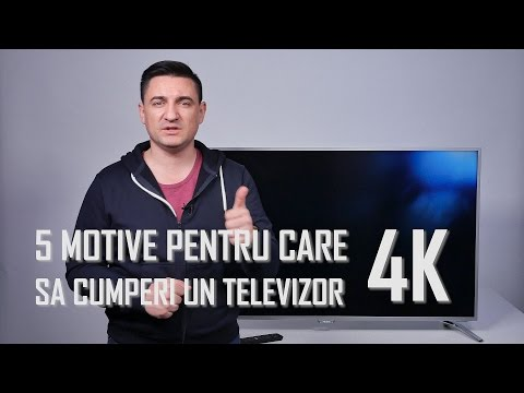 5 Motive să alegi un televizor 4K de Black Friday