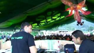 02 dj Asura vs dj Hybris @ Green Trippin Camp 2009 festival @ Azores islands @ Portugal