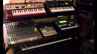Midi synthesizers cover - Alan Parsons Project / Sirius - Glanza's studio