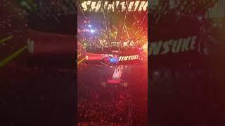 Shinuske Nakamura entrance WrestleMania 34