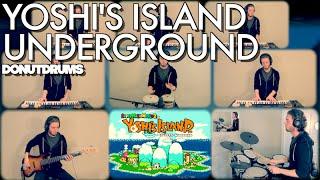 Yoshi's Island   Underground [Drum/Bass/Keyboard Cover] DonutDrums