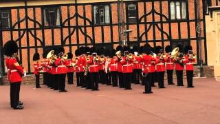 Band of the Scots Guards playing The Final Countdown