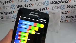 Lenovo S650 Vibe Quadrant benchmark video | Tech2.hu