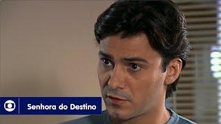 Senhora do Destino: capítulo 95 da novela, segunda, 24 de julho, na Globo