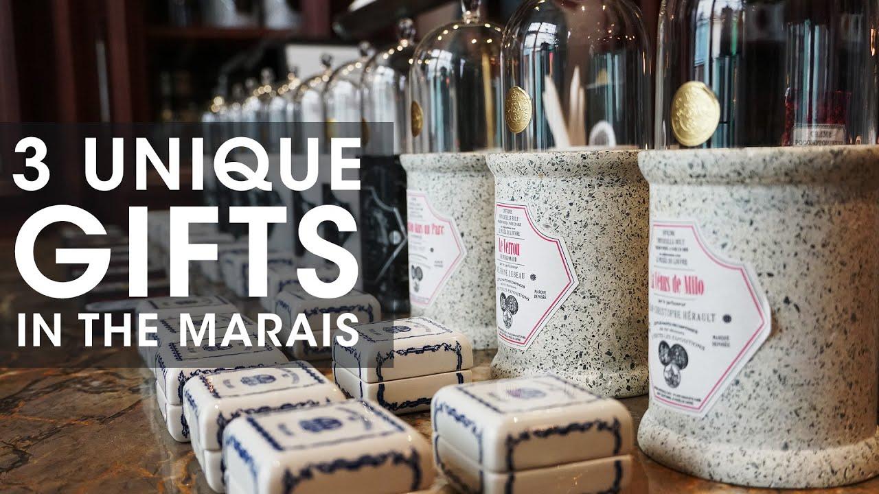 3 Unique Paris Gifts from the Marais Shopping in Paris