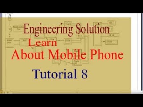 mobile phone engineering 8 (working idea, block diagram) - youtube