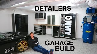 Ultimate Garage Build for Detailers