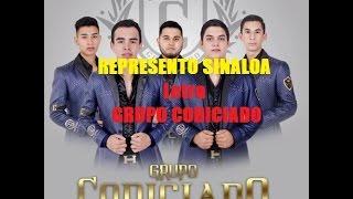 (LETRA) Grupo Codiciado- Represento Ha Sinaloa 2017 // El Griego
