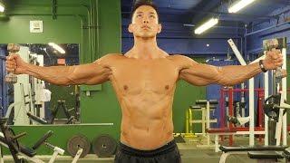 Extreme Monster Shoulder Workout width=