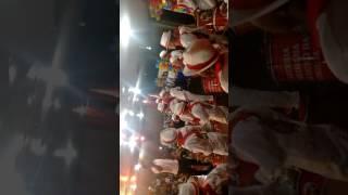 Percussão da escola de samba unidos do santa Terezinha