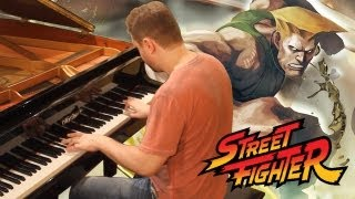 Guile Theme on Piano - Street Fighter Music