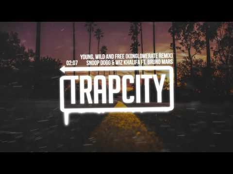 Snoop Dogg & Wiz Khalifa - Young, Wild and Free ft. Bruno Mars (Konglomerate Remix)