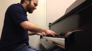 September - Earth, Wind & Fire Piano Cover (Chandler Coats)