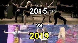 blackpink bbhmm predebut vs. 2019