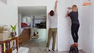 Como aplicar papel de parede adesivo para decorar a sua casa   Inove Papéis de Parede