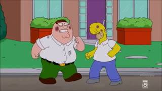 Epic Family Guy Fight Scenes [AMV] [Skillet]