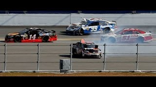2013 Budweiser Duel - Edwards Hard Crash - Call by MRN