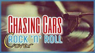 Sven Fürst - Chasing Cars (Snow Patrol / The Baseballs rock 'n' roll cover with lyrics)