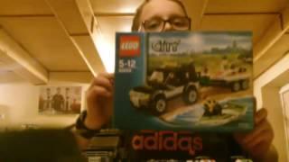 Lego city zestaw nr 60058 dżip z motorówkami.