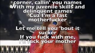GN'R Rocket Queen Live Tokyo '92 Rap Lyrics