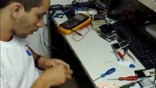 Conserto da Campainha de um Aparelho Celular