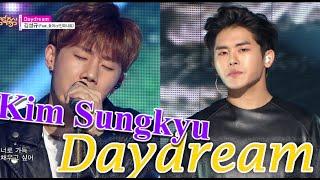[HOT] KIM SUNGKYU (feat.HOYA of INFINITE) - Daydream, 김성규 (feat.호야) - 데이드림, Show Music core 20150606
