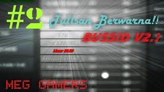 Tutorial | Membuat tulisan room berwarna di game BUSSID