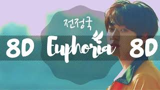 [8D AUDIO] JUNGKOOK BTS  - EUPHORIA  [USE HEADPHONES 🎧] | JUNGKOOK  BTS | 8D