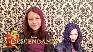 Descendentes Disney - Look Inspirado na Mal - Julia Silva